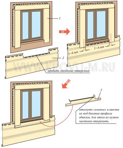 Окна отделка сайдингом своими руками пошаговая инструкция 2